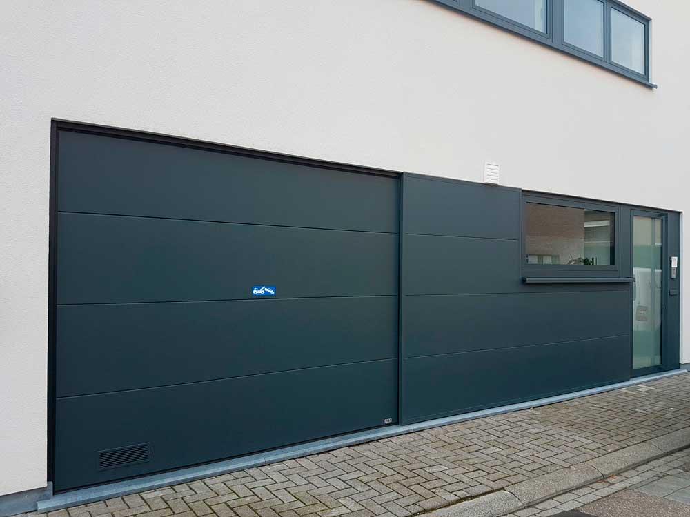 On a en général quatre types de portes de garage